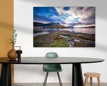 Schloss Eilean Donan in Schottland von Peter de Jong