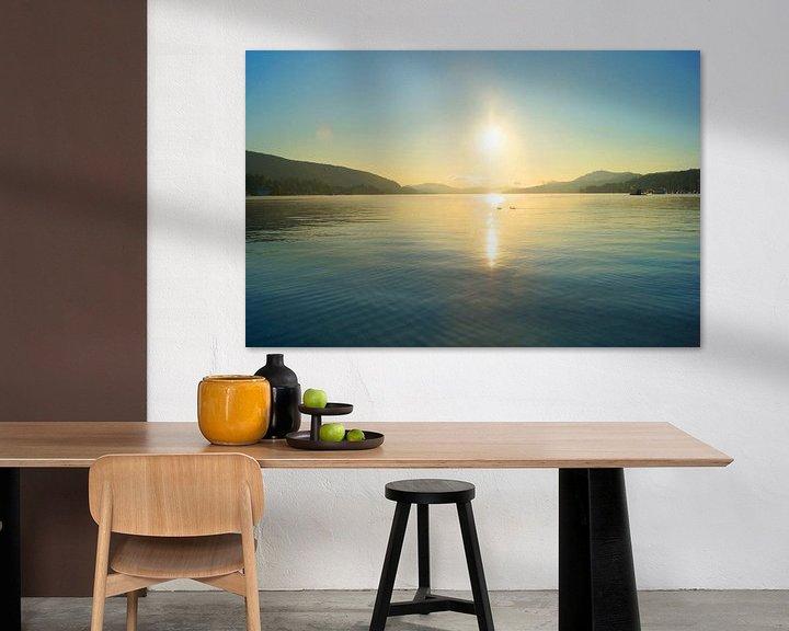 Beispiel: Sonnenaufgang am See von Markus Jerko