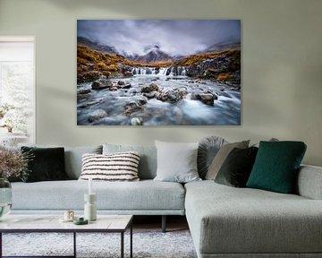 Fairy Pool in Schottland von Peter de Jong