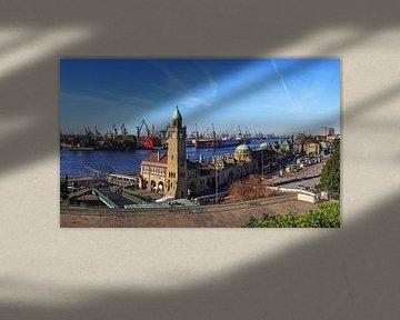 Hamburg Skyline - Débarcadères et port