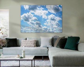 Wolken spel van Lili's Photography