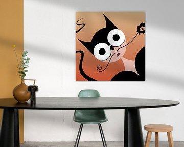 Catwoman von Anjo Vrieling