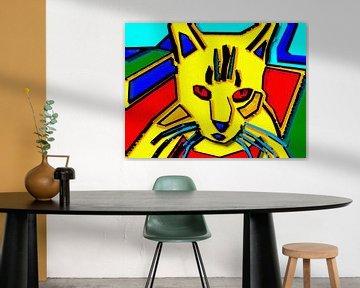 Piet Mondrian-Katze von McRoa