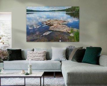 Zweeds landschap 187 van Geertjan Plooijer