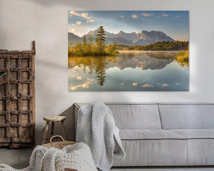 Beispiel: Barmsee in Bayern von Michael Valjak