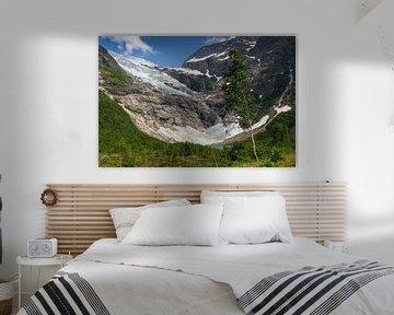 Bøyabreen Gletsjer, Noorwegen van Adelheid Smitt