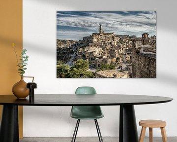 Ville italienne de Matera en Basilicate. sur Ron van der Stappen