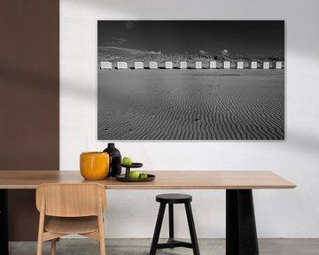 Chalets de plage Nieuwvliet sur Peter Deschepper
