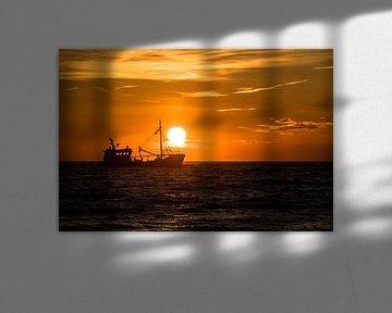 Sonnenuntergang Scheveningen von Devlin Jacobs