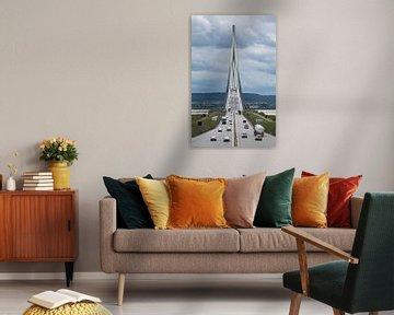 Pont de Normandie Frankreich