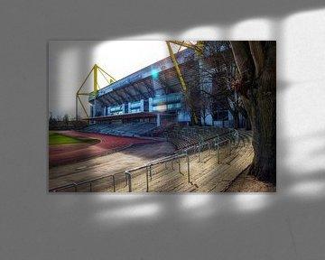 Stadion Rote Erde und Signal Iduna Park, Borussia Dortmund von Martijn Mureau