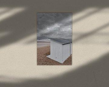 Strandcabines Oostende van Rik Verslype