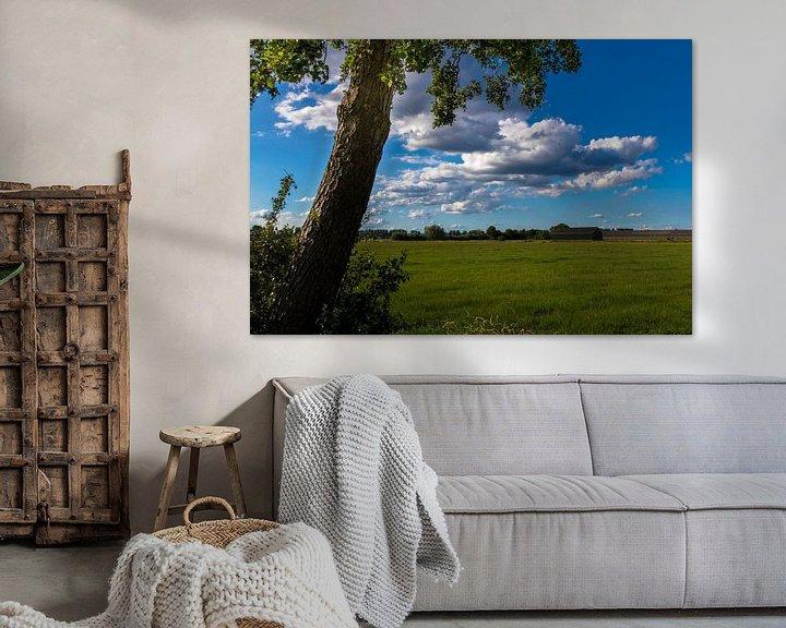 Sfeerimpressie: Uitzicht op de landerijen van Devlin Jacobs