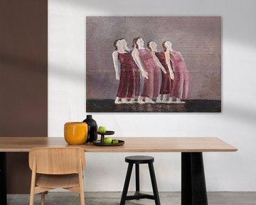 Multiply. Dansers in de spotlights van Linda Dammann