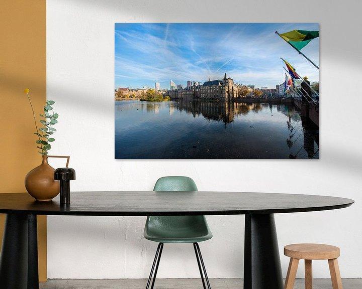 Sfeerimpressie: Binnenhof Den Haag. van Brian Morgan