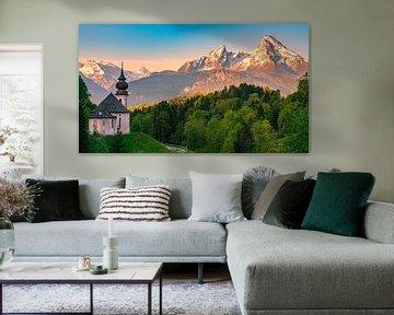 Maria Gern, Berchtesgaden, Beieren, Duitsland