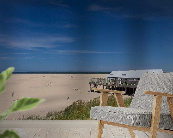 Impression: Beach of Texel sur Nicole van As