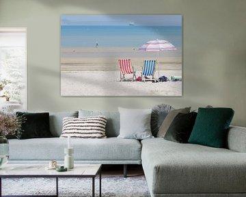 Engels strandleven van Elles Rijsdijk
