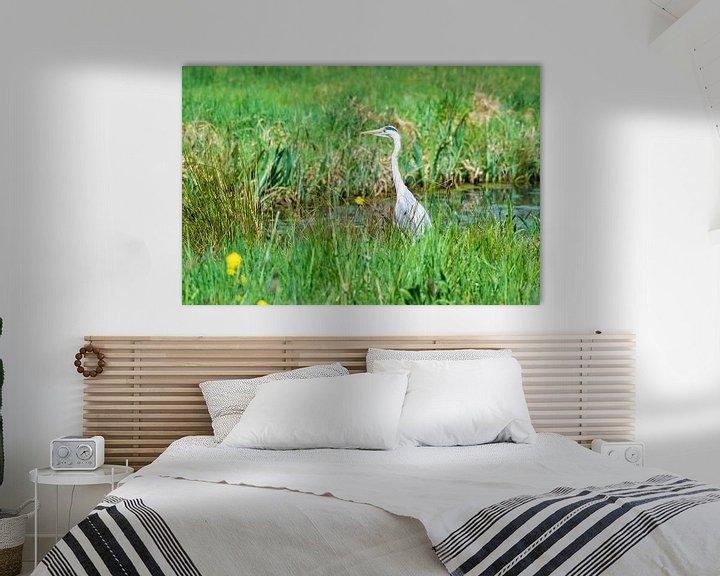 Beispiel: Blaureiher von Merijn Loch