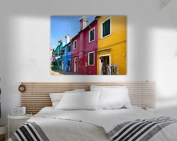 Burano peint