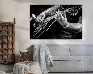 gitaar 2 van Margriet Cloudt