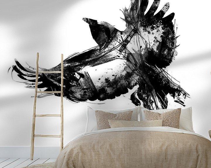 Beispiel fototapete: Vogel von Teis Albers