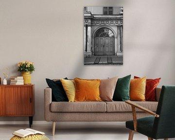 Antike Tür in Wien von Elles Rijsdijk