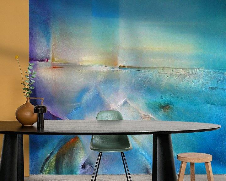 Sfeerimpressie behang: noordelijk licht van Annette Schmucker