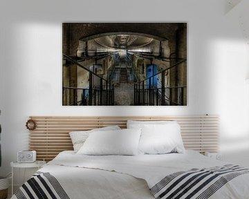 Korridor der Zellen. von Henk Elshout