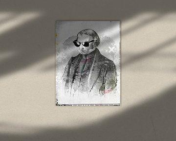 Vintage-Sonnenbrille von Teis Albers