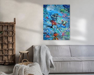 Blue confusion van Lucia Hoogervorst