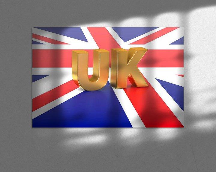 Beispiel: Buchstaben und Flagge von BVpix