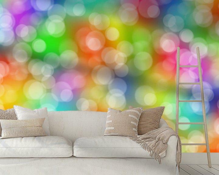 Beispiel fototapete: Bunte Lichter von BVpix