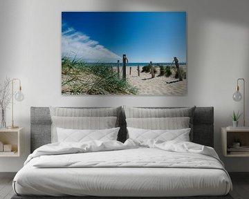 Strandopgang bij Kaap Noord van Wim van der Geest