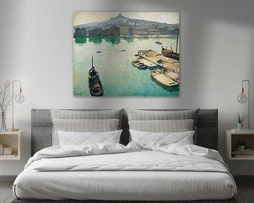Albert Marquet~Hafen von Marseille