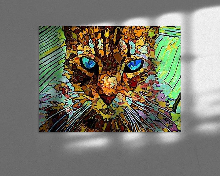 Beispiel: Die rätselhafte Katze von McRoa