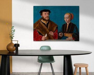 Porträt von Elisabeth Bellinghausen und Jakob Omphalius, Bartolomäus Bruyn