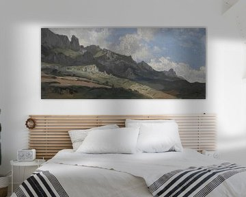 Carlos de Haes-Graue Steingebirgslandschaft, Antike Landschaft