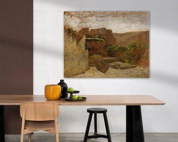 Landschaft von Carlos de Haes-Tusia, Antike Landschaft