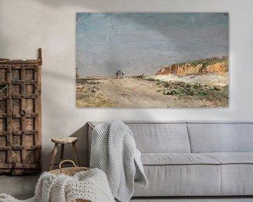 Carlos de Haes-Weg Landschaft zum Strand, Antike Landschaft