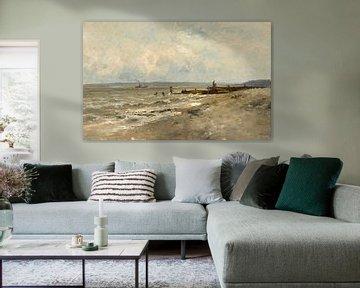 Carlos de Haes-Zeezijde gebrochene Molenlandschaft, Antike Landschaft