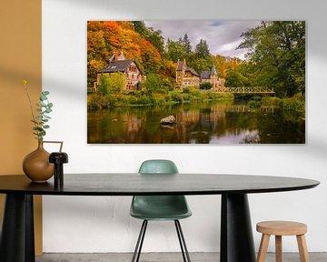 Herfst in Treseburg, Duitsland van Henk Meijer Photography