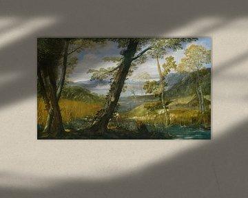 Annibale Carracci~Landschap van de rivier