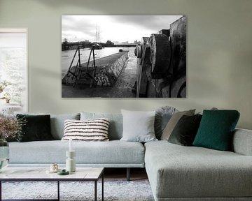 NDSM-Gebiet Amsterdam Nord von Willem Holle WHOriginal Fotografie