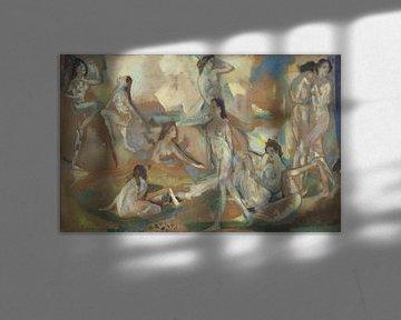 Arthur Bowen Davies~Luft, Licht und Welle