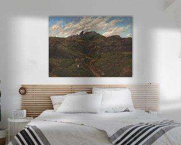 Aurélio Figueiredo~Itacolomi Peak, Schwarzes Gold, MG