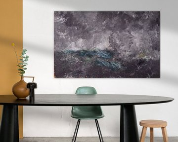 August Strindberg~Storm dans les Skerries Le Hollandais volant