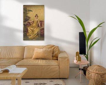 Charles Joseph Frederic Soulacroix~Een Reverie