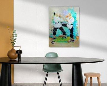 Karate - Mawashi von Lucia Hoogervorst