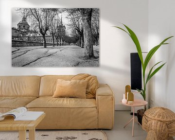 Kloster in Escorial von Annette van Dijk-Leek